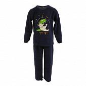 Pyjama long manches longues garçon MARINE 12ANS