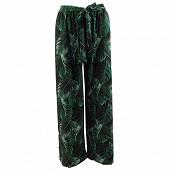 Pantalon large femme VERT T46
