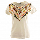Tee shirt manches courtes femme ECRU 50\52