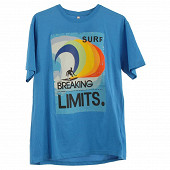 Tee shirt manches courtes homme TURQUOISE XXL