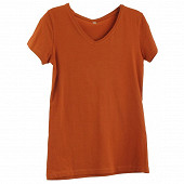 Tee shirt manches courtes femme TERRACOTTACOLV T50\52
