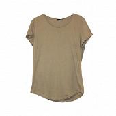 Tee shirt manches courtes femme LIGHT GREY MELANGE T50\52