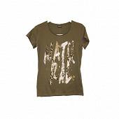 Tee shirt manches courtes femme KAKI NATURAL T50\52