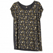 Tee shirt manches courtes femme GREY LIBERTY T50\52