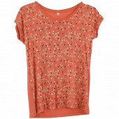 Tee shirt manches courtes femme CORAIL FLOWERS T42\44
