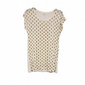 Tee shirt manches courtes femme ECRU ANANAS T50\52