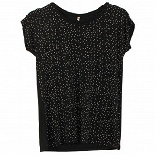 Tee shirt manches courtes femme BLACKDOTS T50\52