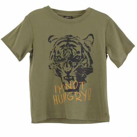 Tee shirt manches courtes GRIS CHINE 12 ANS