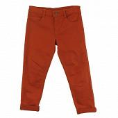 Pantalon toile BRIQUE 12 ANS
