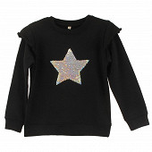 Sweat fille GRIS CHINE 12ANS