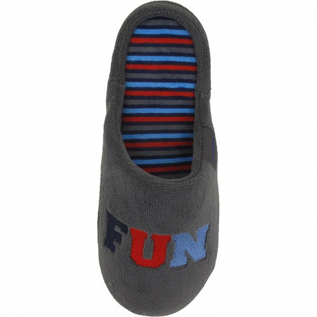Isotoner mule micro éponge ergonomique garçon 35/39 GRIS 39