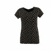 Tee shirt manches courtes ROSE GRAPHIQUE T46/48