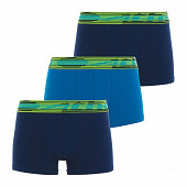 Lot 3 boxers sport pack Athena 2150 MARINE/BLEU/MARINE 10 ANS