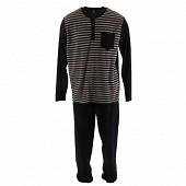 Pyjama velours RAYE XXL