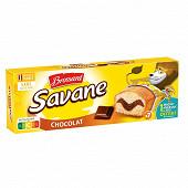 Brossard savane pocket chocolat x7 210g