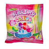 Sucettes avec chewing gum 144 g