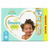 Pampers premium protection taille 5 - 68 couches - 11-16kg