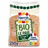 Harrys pain de mie pavé bio aux graines de chia et courge 250g
