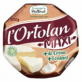 Fromagerie milleret l'ortolan maxi 500g