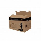 Pack carton fond automatique 120l