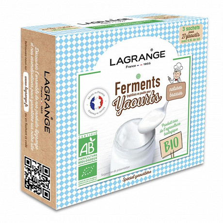 Lagrange ferments aromatises pour yaourts natures 385001