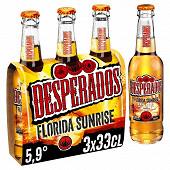 Desperados Florida Sunrise 3x33cl Vol.5.9%