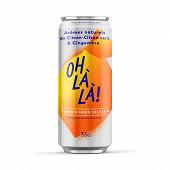 Ohlala citron gingembre 33cl Vol.4.5%