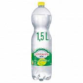 Cristaline eau de sources gazéifiée aromatisée au citron 1.5L