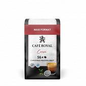 Café royal dosettes souples corsé x56 389g