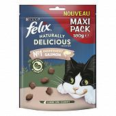 Felix naturally delicious saumon avec une touche d'épinard 180g