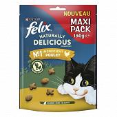 Felix naturally délicious riche en poulet avec une touche d'herbe 180g