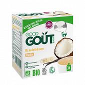 Good goût gâteau de riz au lait de coco vanille 4x85g