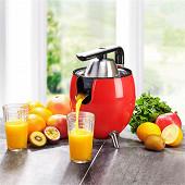 Kitchencook presse agrume électrique rouge PRESSPOD_RED