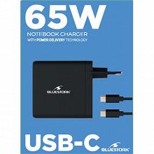 Bluestork Alimentation secteur universelle pour pc 65 w usb-c BS-PW-NB-65 USB C