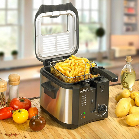 Kitchencook friteuse inox 2.5 litres FR2020_INOX_BLACK