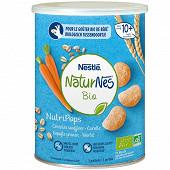 Nestlé naturnes bio nutripops carottes dès 8 mois 35g
