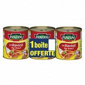 Panzani ravioli pur boeuf 4/4 lot 2+1 offerte