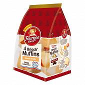 La fournée dorée - 4 brioch'muffins vanille 220G