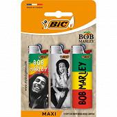 Bic maxi briquets édition limitée - décors assortis bob marley