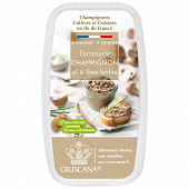 Cruscana tartinade champignon ail et fines herbes Barquette 100g