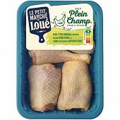 Le Petit Marché de Loué morceaux de poulet jaune