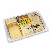 Fromage raclette 650g 6 saveurs lait cru