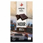 Grain de Sail Tablette chocolat noir 85%  bio - 100g