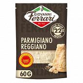 Giovanni ferrari parmigiano reggianno aop affiné 22 mois rapé 60g