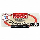 Soignon Saint Maure fromage de chèvre sélection 200 g