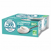 Les 300 & Bio fromabge blanc nature 4x100g