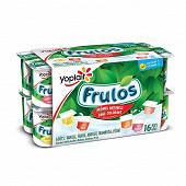 Frulos yaourt ferme aromatisé panaché 16x125g
