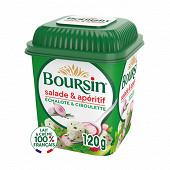 Boursin salade et apéritif échalote ciboulette 120g