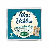 Société bleu de brebis au lait de brebis pasteurisé  34%mg 110g