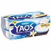 Yaos yaourt à la grecque vanille 4x125g